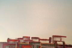 A long time ago - 100x100cm - Oil on canvas - 2004