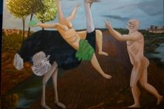 Le carneval mortel - 100x120cm - Oil on canvas - 2004