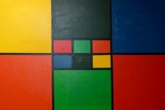 Composition of colours - 150x100cm - Oil of canvas - 2005