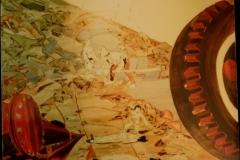 Working Machine - 120x120cm - Oil on canvas - 2000
