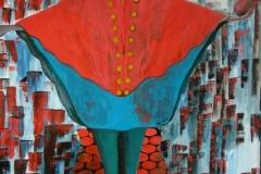 Le petit prince - 200x150cm - Oil on canvas - 2010