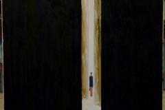 Golden Doors - 100x100cm - Oil on canvas - 2016