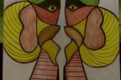 11 September - 80x70cm - Oil on canvas - 2012