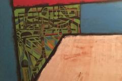 Labyrinth - 140x120cm - Oil on canvas - 2018