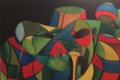 Life - 150x100cm - Oil on canvas - 2015