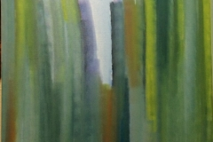 Trees of concrete - 100x100cm - Oil on canvas - 2004