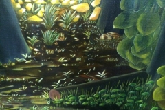 Forest (Detail) - 200x150cm - Oil on canvas - 1999