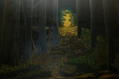 Forest - 200x150cm - Oil on canvas - 1999