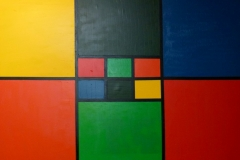 Composition of colours - 150x100cm - Oil of canvas - 2005