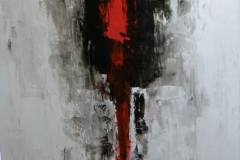 Lady - 150x100cm - Oil on canvas - 2008